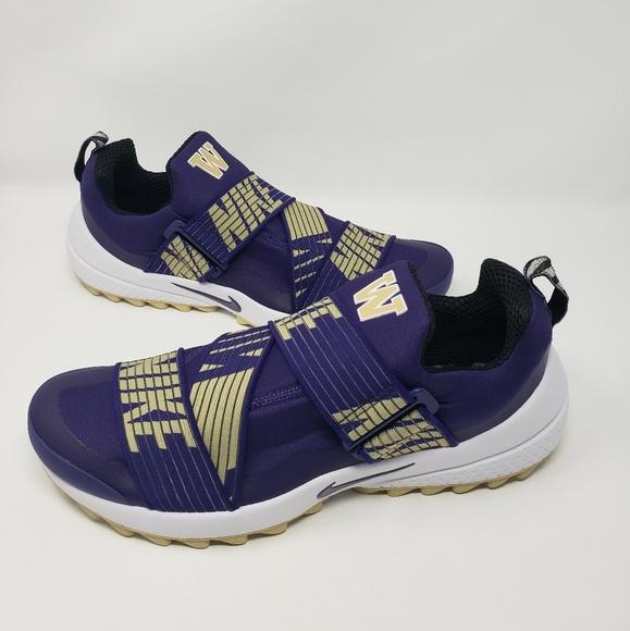 Nike Washington Huskies Air Zoom Gimme Golf Shoes NWT
